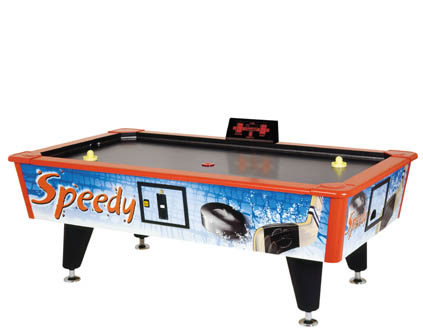 Air Hockey cu Jetoniera Speedy Garlando